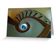 Light house stairs 2 Greeting Card