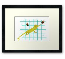 It Loves Butterflies Framed Print