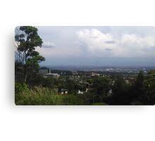 view of bandung city Canvas Print