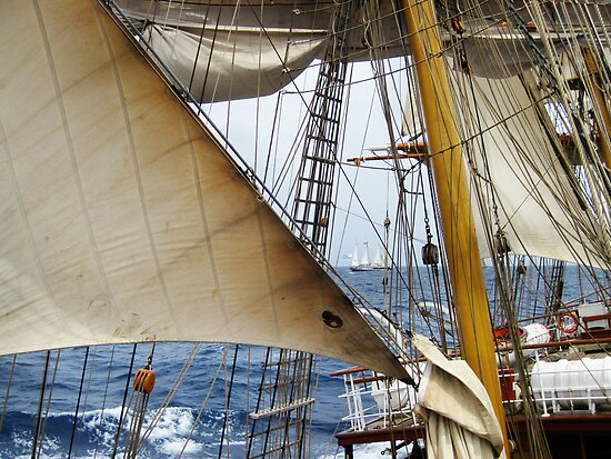 Through the Rigging by Lucy Hollis