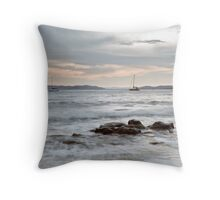 Blackmans Bay yachts Throw Pillow