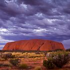 Uluru Sunrise &amp; Sunset by Steven Pearce