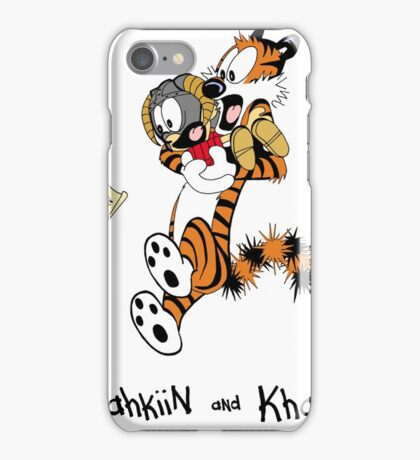 Dovahkiin and Khajiit We Know iPhone Case/Skin