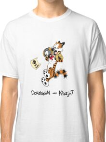 Dovahkiin and Khajiit We Know Classic T-Shirt
