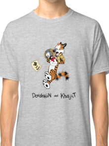 Dovahkiin and Khajiit We Know Classic T-Shirt