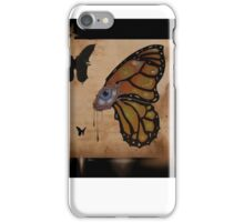 butterfly funeral iPhone Case/Skin