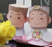 cute bride mr & mrs by roni rustaman