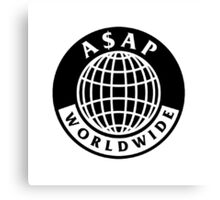 asap world wide Canvas Print