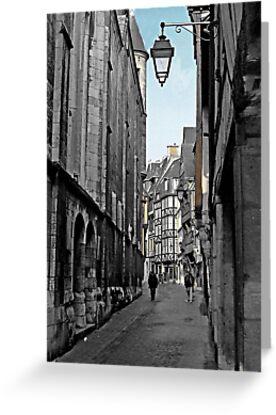 Les Ruelles de Rouen by Natasha M