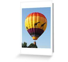 Pittsfield Hot Air Balloon Rally 2009 III Greeting Card