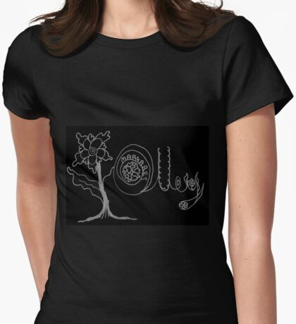 Margaret Olley - A Tribute to an Awesome Artist Womens Fitted T-Shirt