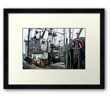 The Business Of Fishing Framed Print