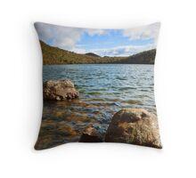 Lake Osborne shoreline 2 Throw Pillow