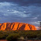 Uluru Sunset by Steven Pearce