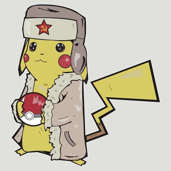 TShirtGifter presents: Soviet Pikachu v.1