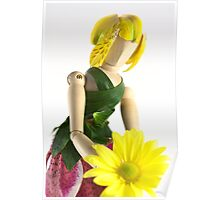 Wooden Fairy Poster
