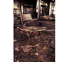 Take a seat. Photographic Print