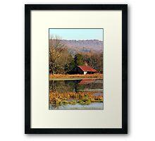 Autumn Reflections Framed Print