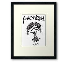 Aracnakid #8 Framed Print