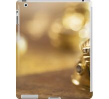 charm and beauty through some gold rings iPad Case/Skin