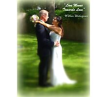 Love Moves Towards Love Photographic Print
