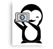 Penguin photo  Canvas Print