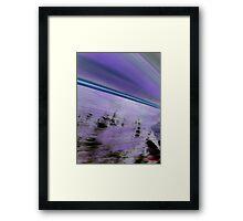Zoom! Framed Print
