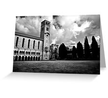 The Clock Tower Greeting Card