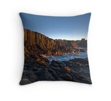 The Cathedral Revisited - Bombo Headland, NSW Throw Pillow