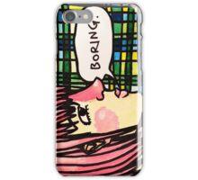 Boring iPhone Case/Skin