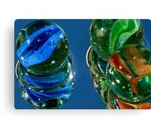 Marbles as Art Canvas Print