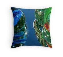 Marbles as Art Throw Pillow