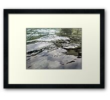 I have found myself again....and the rest is silence. Framed Print