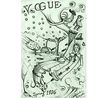 Vogue Cover Series #1  ( Spring 1906 ) Photographic Print