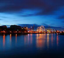 The Belfast Docks by blueguitarman