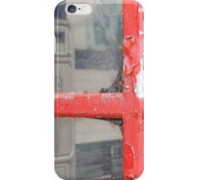 Old telephone booth iPhone Case/Skin