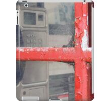 Old telephone booth iPad Case/Skin