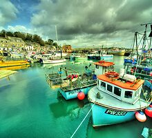 Padstow Colours  by Rob Hawkins