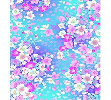 Violete Elite Floral Photographic Print