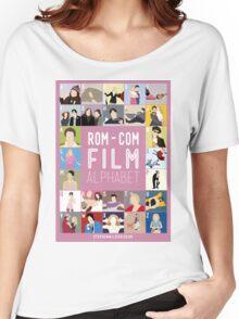 Rom Com Film Alphabet Women's Relaxed Fit T-Shirt