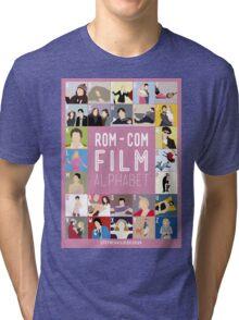 Rom Com Film Alphabet Tri-blend T-Shirt