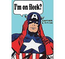 I'm On Fleek? Superhero Photographic Print