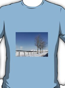 Snow Scene in Cumbria T-Shirt