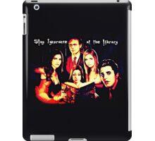 Slay Ignorance at the Library iPad Case/Skin