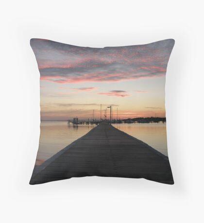 Sunset @ Sunset Beach. Throw Pillow