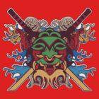 Kabuki Mask by brev87