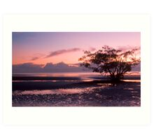 Nudgee is pretty in pink Art Print
