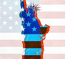Statue of liberty / USA by MartaOlgaKlara