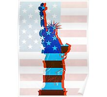 Statue of liberty / USA Poster