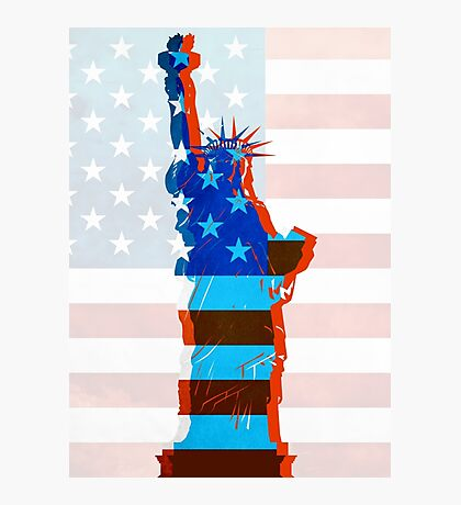 Statue of liberty / USA Photographic Print
